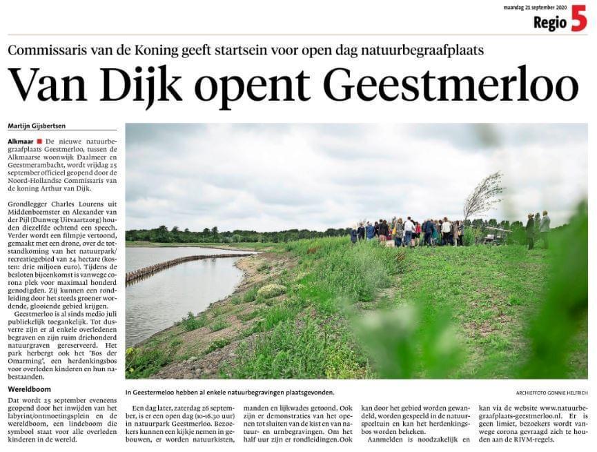 Opening Geestmerloo NHD